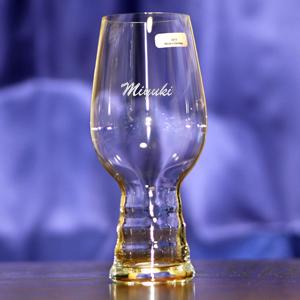 IPAグラス彫刻サンプル