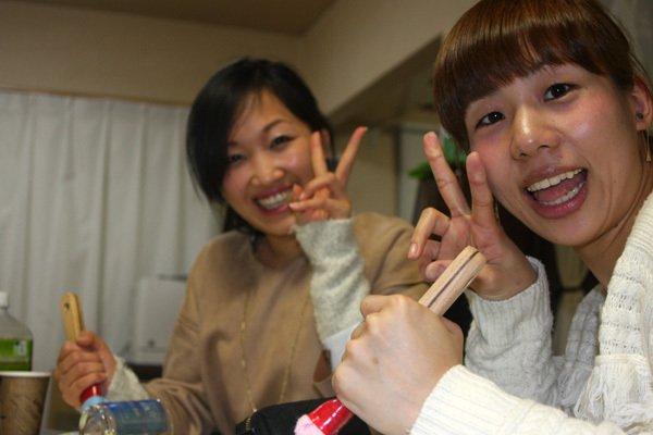 画像5: 愛知県から彫刻体験に来られました
