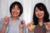 大阪と隣町三豊市のお二人が彫刻体験に来て戴けました。